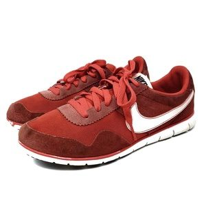Nike Victoria Low Trainer Athletic Shoe Red White